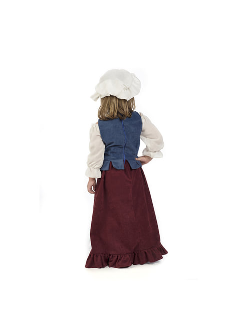 Disfraz de tabernera medieval para bebé - original