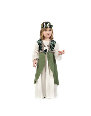 Keskiaikainen Clarisa asu pienille lapsille