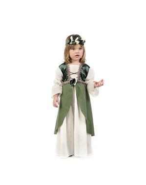Bebekler için Ortaçağ Clarisa kostümü