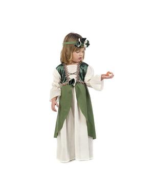Middeleeuwse Clarisa kostuum voor baby's