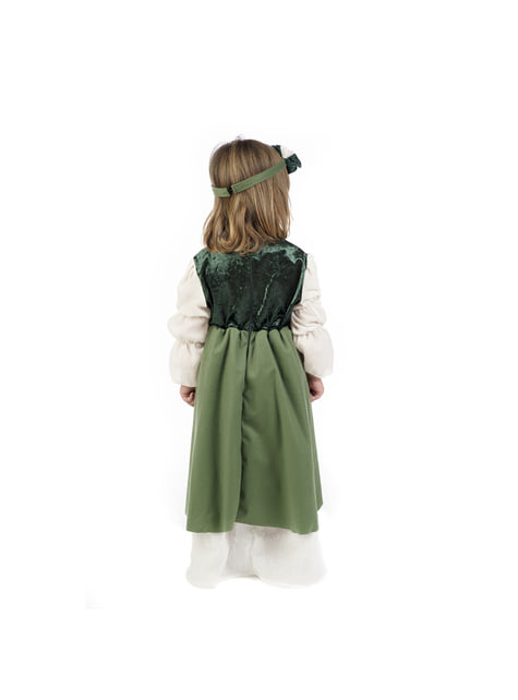 Medieval Clarisa costume for babies
