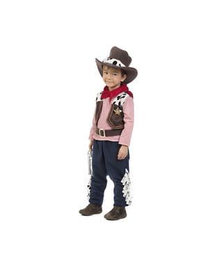 Maskeraddräkt cowboy för bebis