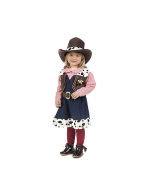 Elegant cowgirl kostyme til babyer