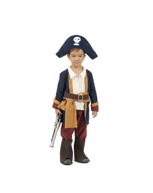 Bebekler için erkek korsan kostümü