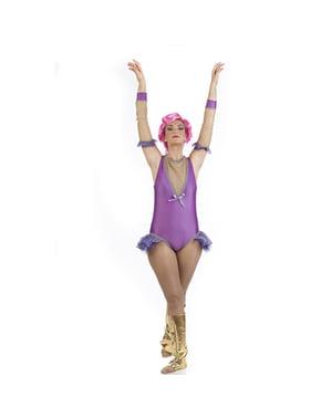 Kostum artis trapeze untuk wanita