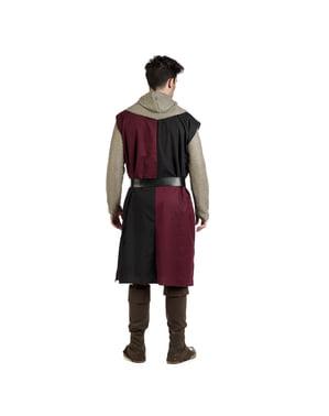 पुरुषों के लिए मध्यकालीन एडवर्ड नाइट पोशाक