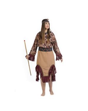 Deluxe Indianen kostuum voor vrouw