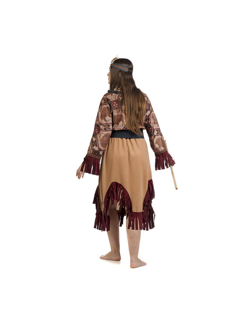 Disfraz de india deluxe para mujer - mujer