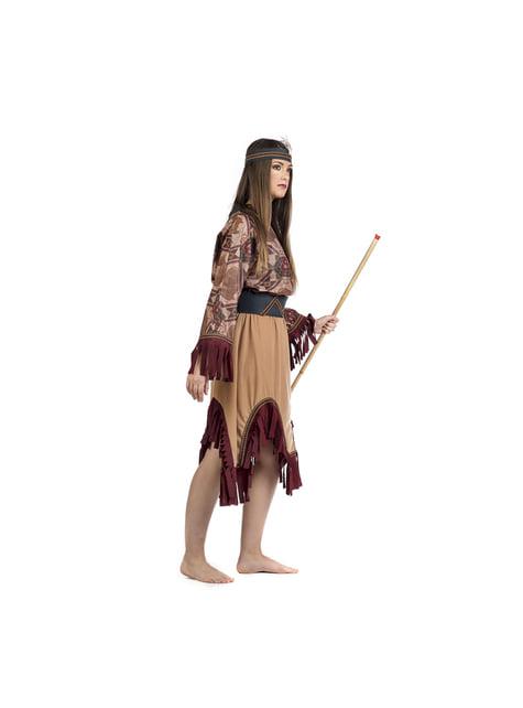 Disfraz de india deluxe para mujer - original