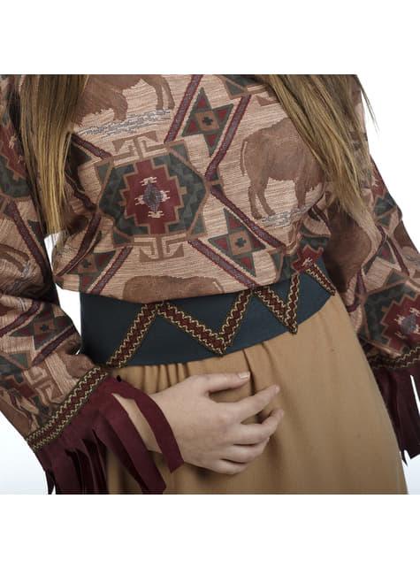 Disfraz de india deluxe para mujer - traje
