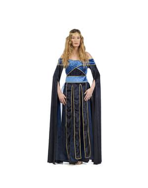 Fato de Maria medieval para mulher