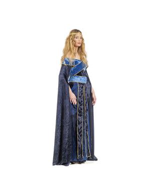 Disfraz de María medieval para mujer