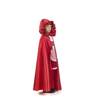 Czerwona peleryna dla dzieci