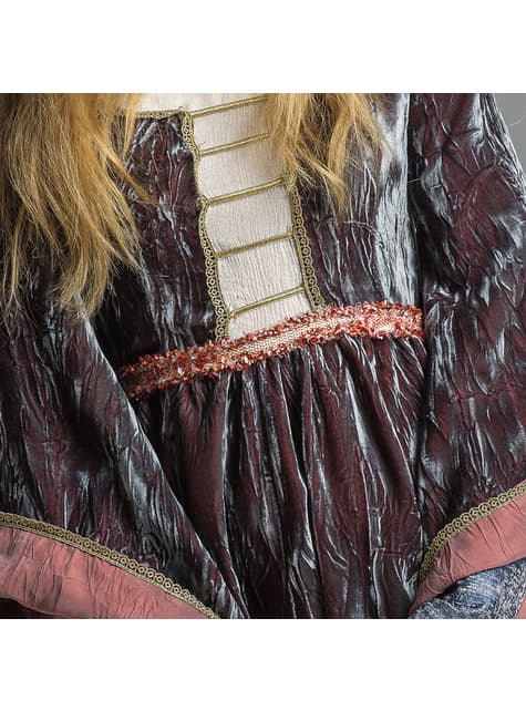 Disfraz de Reina María medieval para mujer