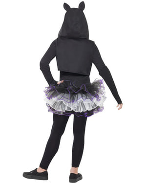 Kostium dla dziewczynki szkielet kotka