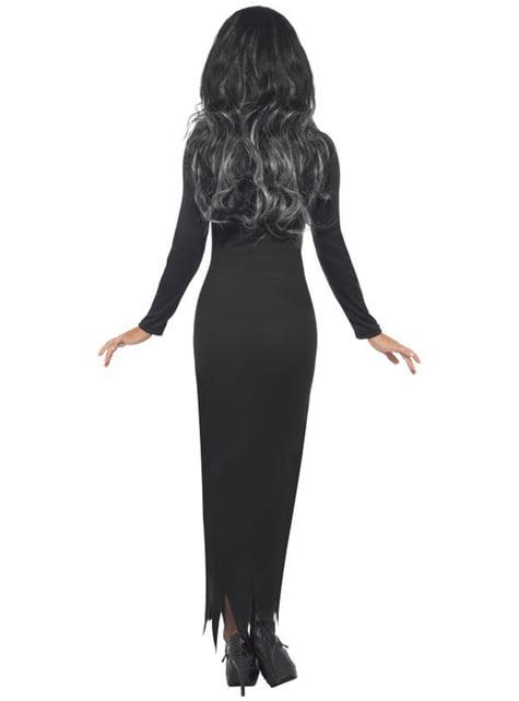 Μαύρο κοστούμι ενήλικων σκελετών