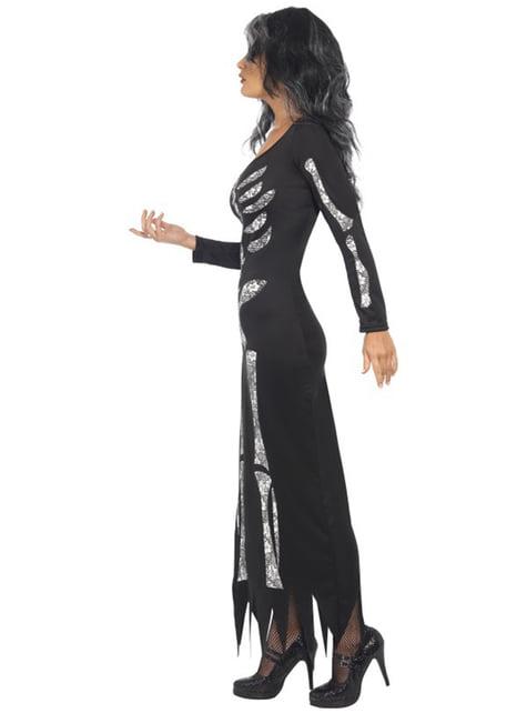 Skelet kostuum voor dames