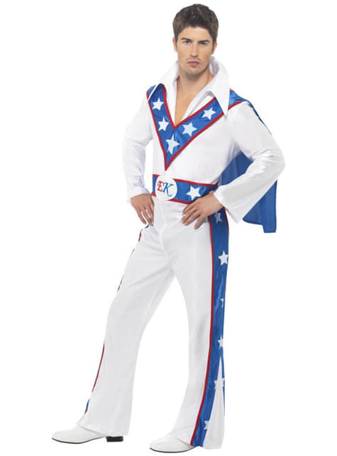 Evel Knievel Kostyme for Voksen