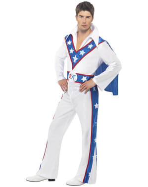 Costume Evel Knievel da uomo