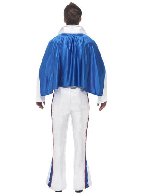 Fato de Evel Knievel para homem