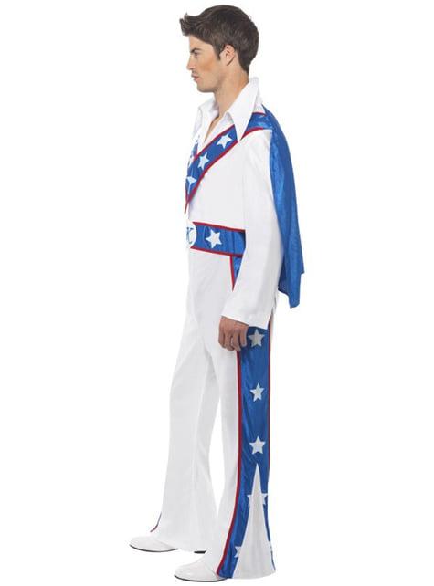 Disfraz de Evel Knievel para hombre - original