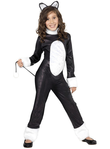 Disfraz de gato moln para nia Funidelia