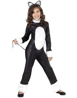 Disfraz de gato para niña