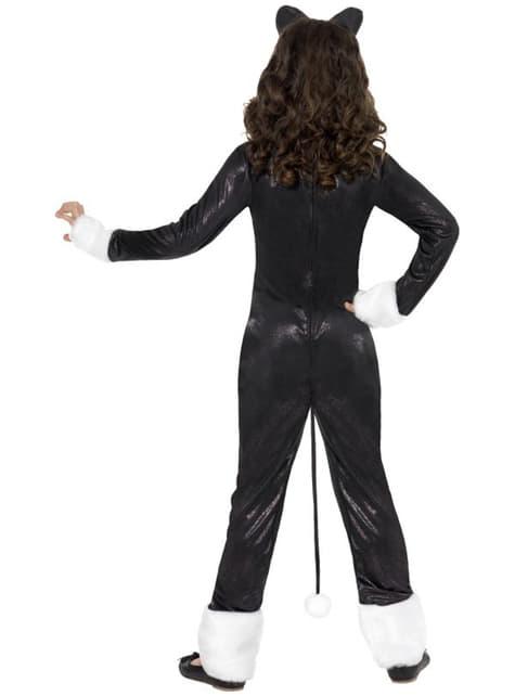 Costum de motan mișto pentru fată