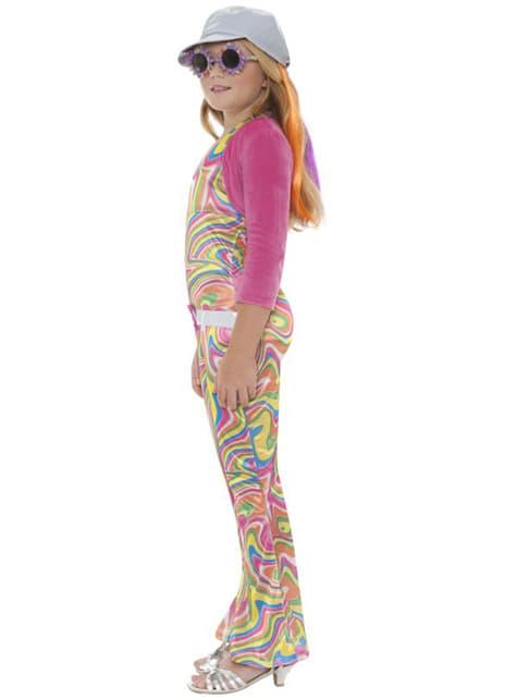 Costum disco girl pentru fată