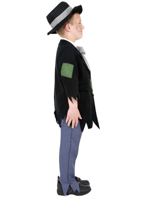 Victoriansk Lommetyv Kostyme for Barn