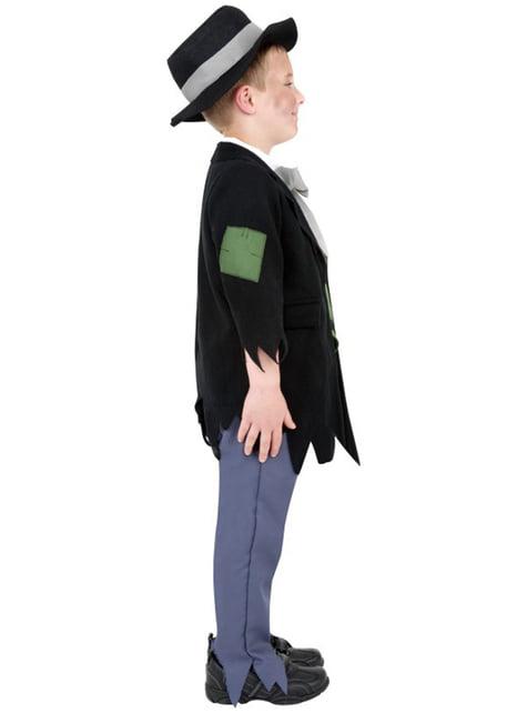Viktorianischer Gauner Kostüm für Jungen