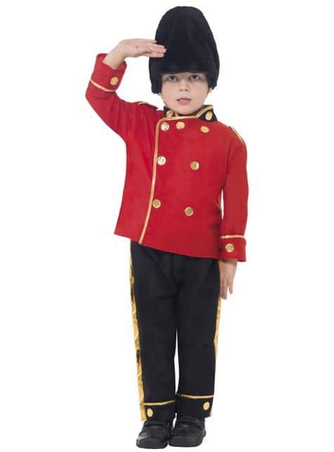 English Guard Costume for Kids
