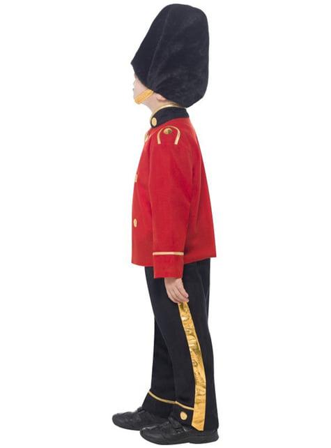 Disfraz de guardia con gorro alto para niño - original