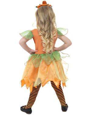 Græskarfe kostume til piger