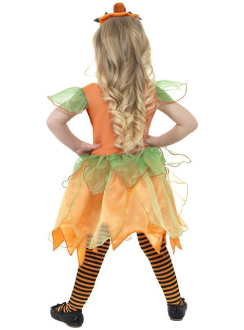 Costum zâna dovleac pentru fată