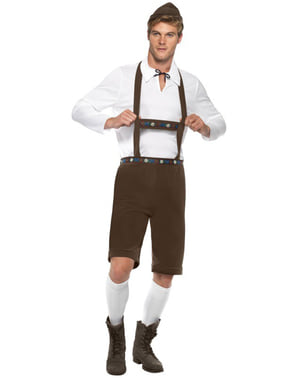 Bavorský muž kostým pre dospelých