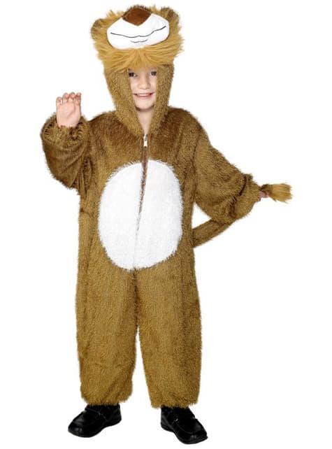 Disfraz de león clásico infantil
