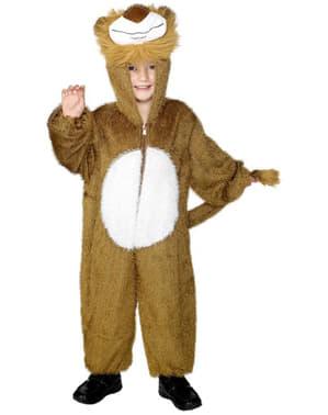 Klassisk Løve Kostyme Småbarn