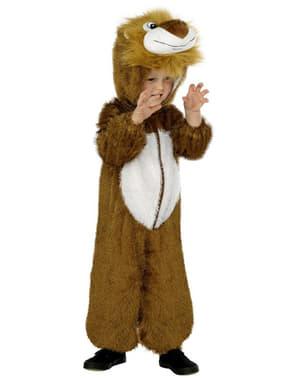 Fato de leãozinho infantil