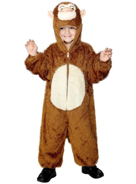 Strój małpa dla dzieci