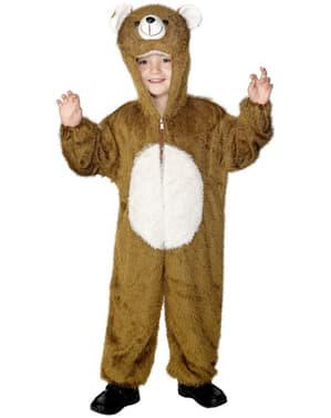 Fato de urso infantil
