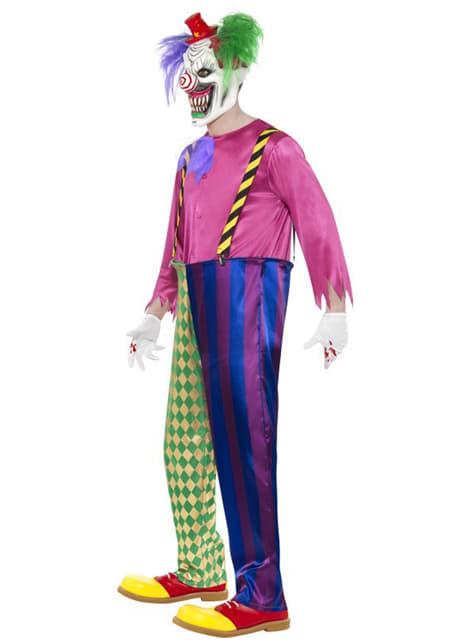Déguisement de clown assassin