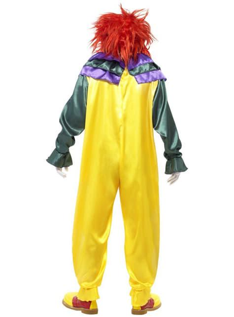 Costum de clovn clasic pentru adult