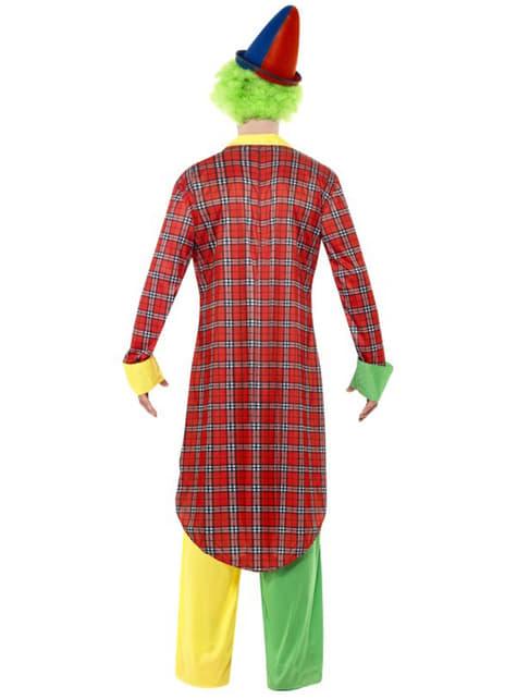 Disfraz de payaso circense - hombre