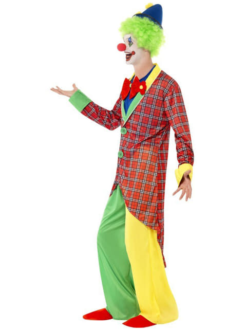Circus Clown Adult Costume
