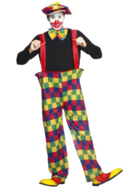 Festande clown Maskeraddräkt