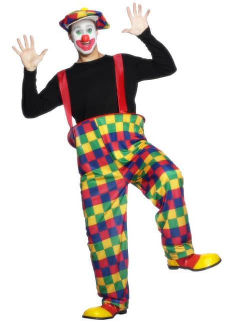 Déguisement de clown de la fête