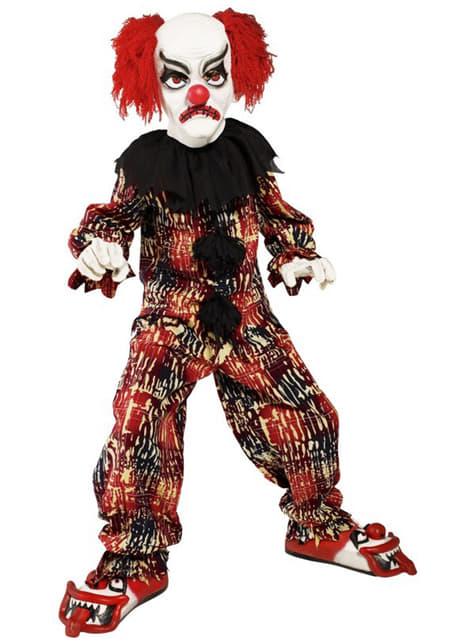 Costum de clovn înfricoșător pentru copii
