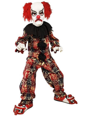 Skrämmande clown Maskeraddräkt Barn