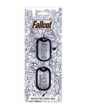 Placas de perro Fallout